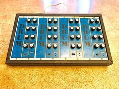 MATRIXSYNTH: Vintage Analog PAIA 5700 Modular Drum Synth