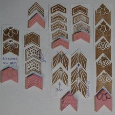 Stempel Yvon: Stamp Carving les 4: Serie 1