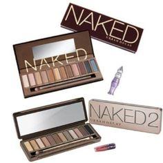 Urban Decay Naked 1 and Naked 2 Palette Duo: Amazon.de: Parfümerie & Kosmetik