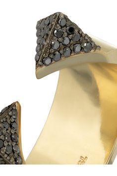 Ileana Makri|Geometry 18-karat gold diamond ring|NET-A-PORTER.COM