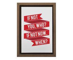 Gravura Digital If Not You Who - 25X35cm | Westwing - Casa & Decoração