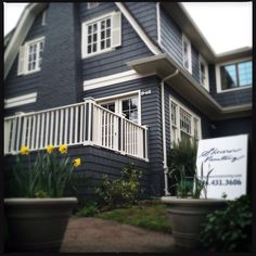 dark gray exterior paint house - Google Search
