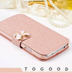 Luxury Fashion Silk pattern Flip PU Leather Phone Case Cover For Samsung Galaxy J3(2016) SM-J320 J320F With Stand Free Shipping