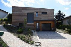 HAUS STL | AL Architekt Garage Doors, Outdoor Decor, Home Decor, Wood Facade, New Construction, Detached House, Cottage House, Architecture, Homes