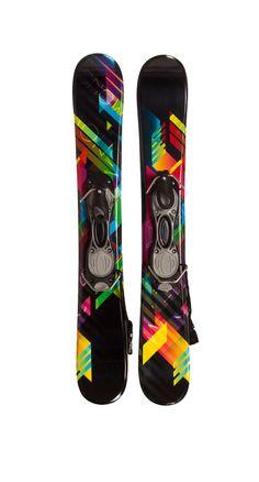 Snowjam Phenom 90cm Skiboards w. bindings - 2014