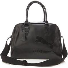 BN Puma Original Mono Synthetic Leather Shoulder Hand Travel BAG IN Black   eBay  Puma Original b86b4dce1c