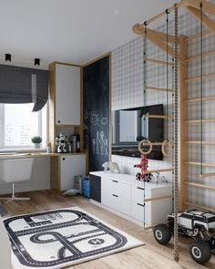70 New ideas for baby boy room design inspiration Boys Bedroom Furniture, Boys Bedroom Decor, Modern Furniture, Outdoor Furniture, Rustic Furniture, Antique Furniture, Furniture Ideas, Boys Room Design, Kids Bunk Beds