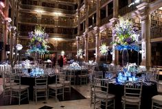 victoria clausen of @Victoria Clausen Florals  Florals. Events. Design.  Baltimore, MD  *Peabody Library Wedding