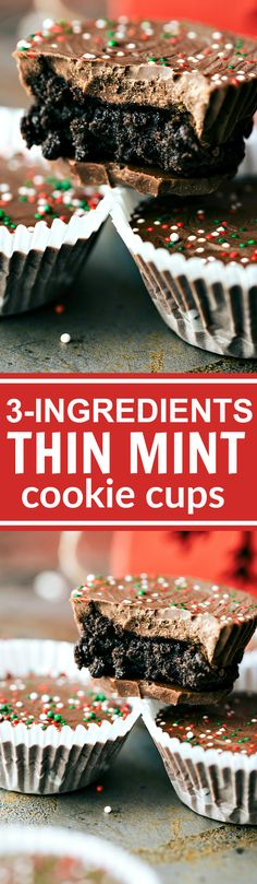 Thin Mint Oreo Cups - 2 Ways!