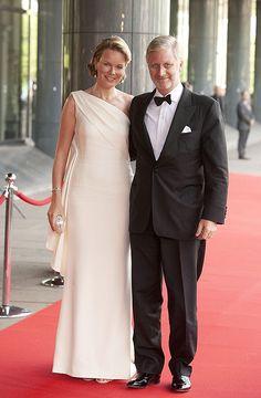 Belgium's Crown Prince Phillipe and Crown Princess Mathilde attend Princess Maxima's 40th birthday celebrations - Photo 8   HELLO!