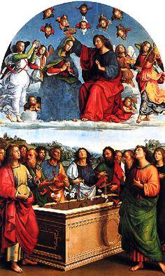 Raphaël - Raffaello - Rafael - Renaissance - Le couronnement de la Vierge