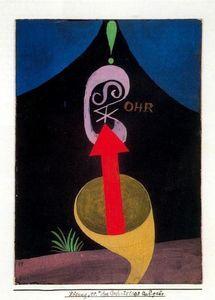 Wassily Kandinsky - Lámina de la carpeta para el 41 cumpleaños de Walter Gropius 1924