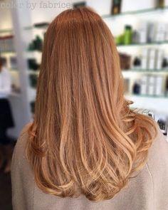 Long Soft Copper Hair