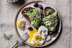Mediterranean Inspired Avocado Toast with Pistachio Dukkah | halfbakedharvest.com @hbharvest