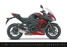 Kalendář Motorbikes | Auto-moto | www.helma365.eu Motorcycle Images, Suzuki Motorcycle, New Motorcycles, Suzuki Gsx, Gsxs 1000, Satria Fu, Kawasaki Vulcan 900 Classic, Super Bikes, Motogp