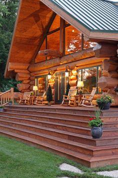 Фото канадских деревянных домов. Дома из массива кедра, каркасные дома, дома post and beam