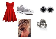 """""""Sadies dance"""" by maddy-adams on Polyvore featuring beauty, Converse and Natures Jewelry"""
