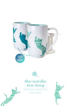 Our favourite teas taste even better out of a good looking cup. Which is why we created this elegantly simple everyday mug. Tea Mugs, Coffee Mugs, Tea Places, Davids Tea, Cute Cups, Cat Colors, Tea Recipes, I Love Cats, Color Change