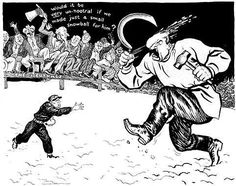 Nations sat and watched as Finland bravely resisted big Russia. America did nothing.   World War Two In Cartoons By ILLINGWORTH