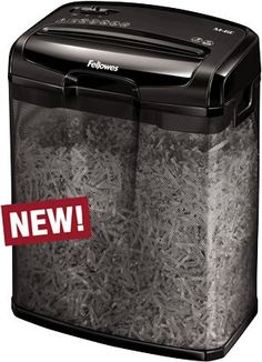 Fellowes M-6C Cross Cut Paper Shredder