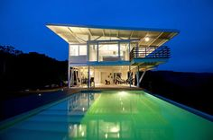 glass homes | See-Through Glass House