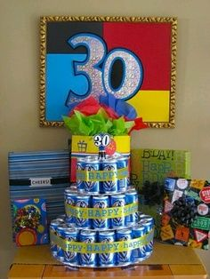 30th birthday ideas. Would also be great for 21st birthdays.