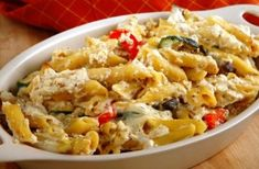 Cheap family meals: Recipes under £1 per head - Courgette bacon and chilli pasta bake - goodtoknow
