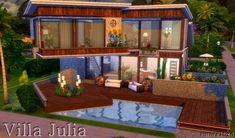 Sims My Homes: Villa Julia • Sims 4 Downloads