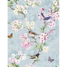 Found it at Wayfair.co.uk - Maylea 10m L x 53cm W Floral and Botanical Roll Wallpaper