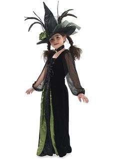 Green feather witch