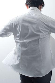 ozie|オジエ・ブランドカタログ 白シャツ