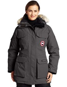 Canada Goose Women's Expedition Parka,  Graphite,  Large -- Check this awesome product by going to the link at the image.