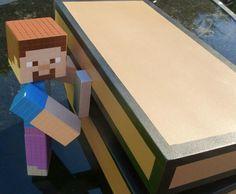 Minecraft Steve Model! With Bonus Double Chest!