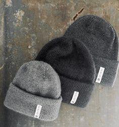 Ravelry: strikkeskolens hue pattern by Pia Trans Diy Crafts Knitting, Knitting For Kids, Free Knitting, Knitting Projects, Baby Knitting, Rowan Felted Tweed, Knit Crochet, Crochet Hats, Lace Knitting Patterns