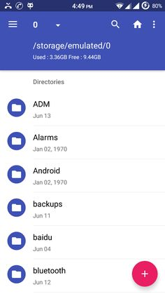 Amaze File Manager - 螢幕擷取畫面