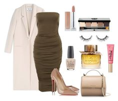 """""""Nude Me"""" by karla-snyders on Polyvore featuring Acne Studios, Christian Louboutin, Givenchy, Bobbi Brown Cosmetics, OPI, Too Faced Cosmetics and Burberry"""