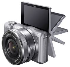 Sony A5000: the world's smallest and lightest interchangeable-lens digital Wi-Fi camera
