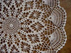 Doilies from Japan
