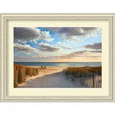 Sunset Beach by Daniel Pollera: 44.38 x 33.88 Print Reproduction