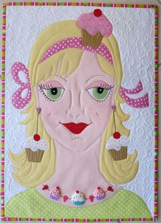 Custom portrait quilts by mamacjt