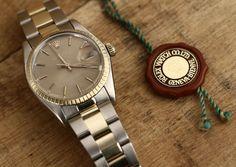 Rolex Date #Rolex #Date #1505 #1977 #steel #gold #plexiglass #watchporn #watches #steinermaastricht
