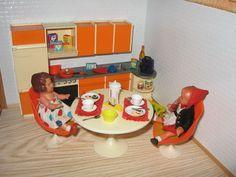 Küchenmöbel Crailsheimer 70er J Tulipstühle Puppenküche Puppenstube-Puppenmöbel | eBay