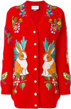 Gucci Rabbit oversized cardigan #Gucci