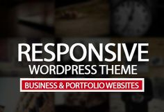 Responsive WordPress Themes for Business & Portfolio Websites #wpthemes #responsivethemes #businessthemes #portfoliothemes