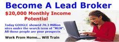 The Silver Fox Lead Factory Review By Steve Zimick, FREE LEAD's For Life…  http://opportunityseeker.onlinecentergroup.com