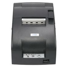 Epson C31C515A8541 (Replaces Part #C31C515A8721) TM-U220D POS Impact Receipt Printer, No Auto Cutter, ETHERNET, Dark Gray