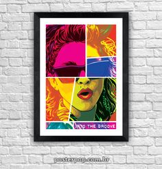 "Poster Madonna ""Into The Groove"""