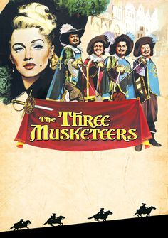 The Three Musketeers (1948), starring Lana Turner, Gene Kelly, June Allyson, Van Heflin, Angela Lansbury, Frank Morgan,  and Vincent Price. While it doesn't do justice to its source material, it's still a great movie and my favorite adaptation of Alexandre Dumas classic novel.