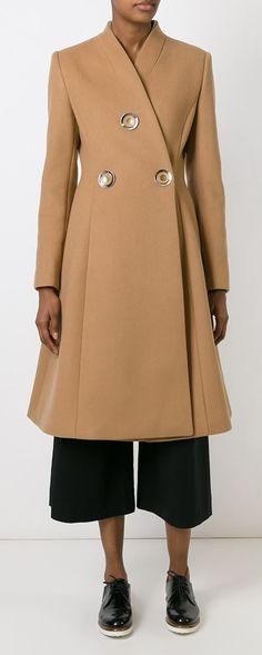 STELLA MCCARTNEY  structured overcoat