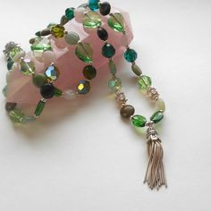 Anahata Chakra Mala | $347 Reconnect to the core of your soul with the Anahata Chakra necklace.